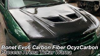 Proton Arena Lotus Green Part 10 : Edisi Bonet Evo 6 + Carbon Fiber By OcyzCarbon