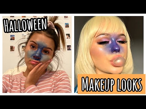 3 CUTE and easy HALLOWEEN makeup looks!