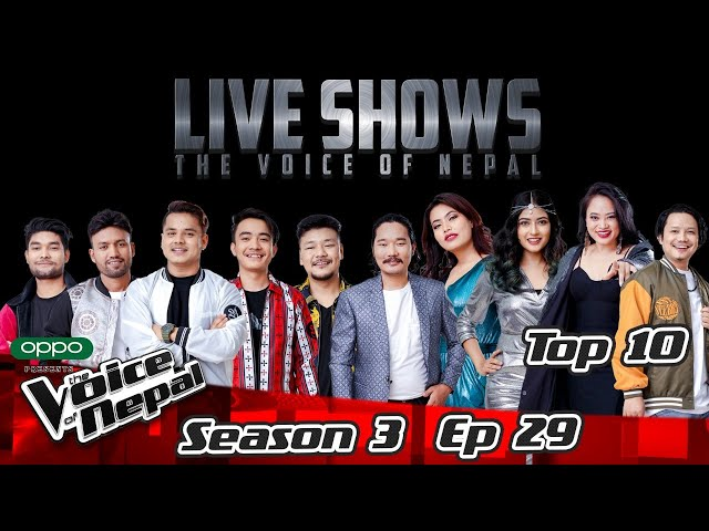 The Voice of Nepal Season 3 - 2021 - Episode 29 (LIVE)