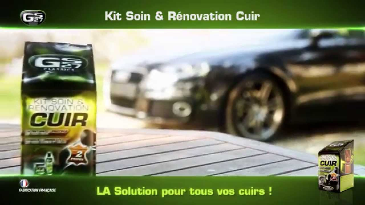 kit soin r novation cuir par gs27 youtube. Black Bedroom Furniture Sets. Home Design Ideas