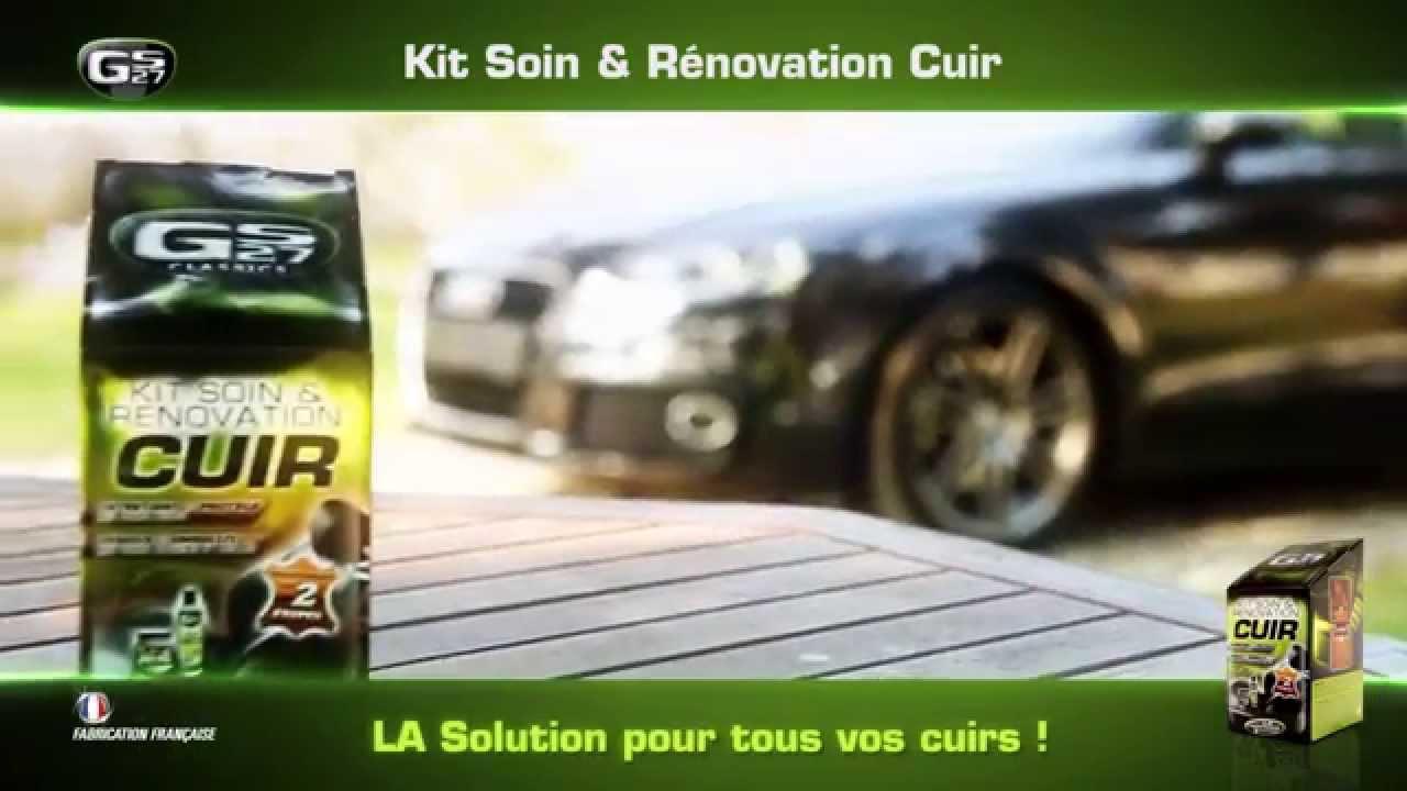 Kit soin r novation cuir par gs27 youtube - Renover cuir voiture craquele ...