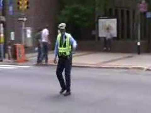 Dancing Cop - University of Pennsylvania