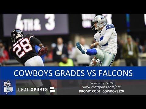 Cowboys vs Falcons: Grades For Ezekiel Elliott, Leighton Vander Esch, Dak Prescott & Jason Garrett