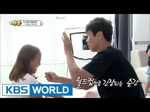 Daebak's sister Jaeah pulls out her loose tooth! [The Return of Superman / 2017.09.03]