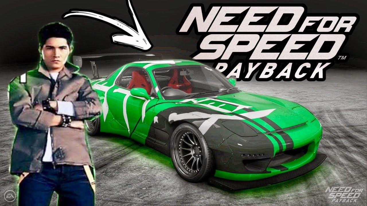 need for speed carbon bushido logo