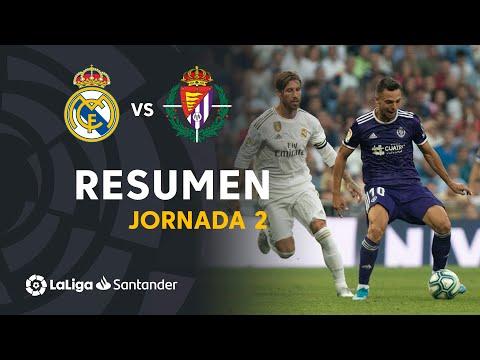 Resumen de Real Madrid vs Real Valladolid (1-1)