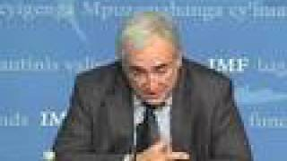 Dominique Strauss-Kahn discusses IMF reforms