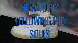 God of Soles - How to clean and restore your AF1s