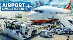 AIRPORT SIMULATOR 2019 #1: Fluggäste per BUS zum Flugzeug bringen! | Flughafen Simulator