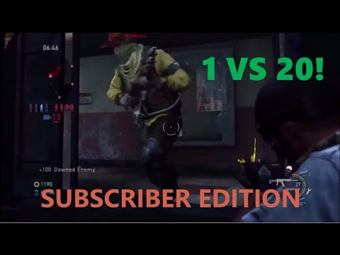 1 vs 20 Comeback (Subscriber Edition) - The Last of Us: Remastered Multiplayer (Bus Depot)