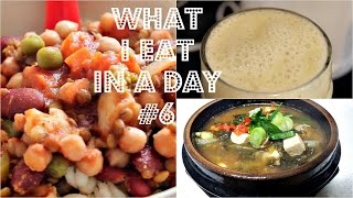 What I Eat In A Day #6 (korean Soup Recipe) | Cheap Lazy Vegan