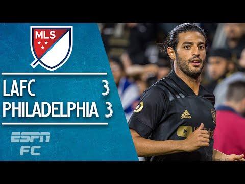 LAFC vs. Philadelphia: INSTANT CLASSIC!  Carlos Vela, Diego Rossi score in 3-3 draw | MLS Highlights