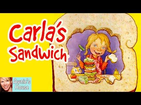 🥪-kids-book-read-aloud:-carla's-sandwich-by-debbie-herman-and-sheila-bailey