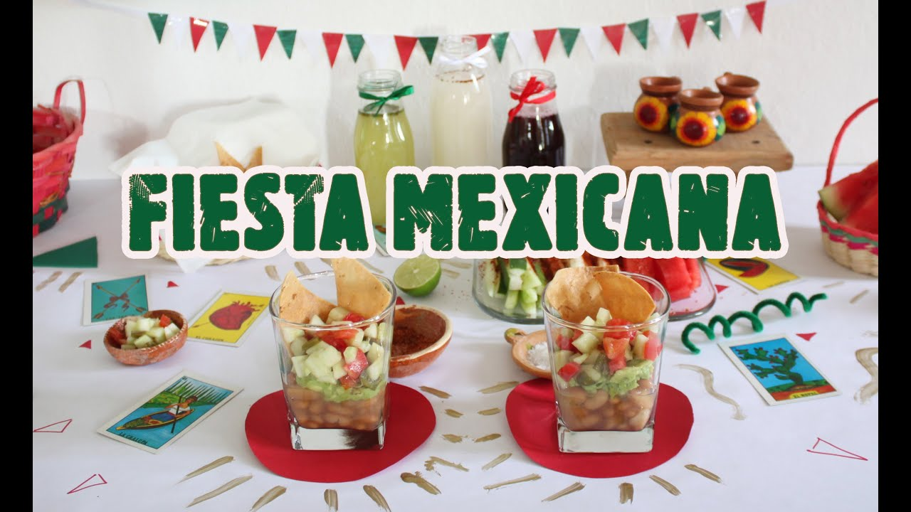 Fiesta mexicana ideas selenne fonseca youtube - Decoraciones de salones de casa ...