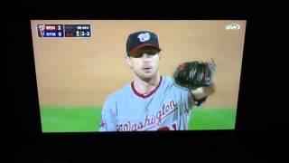 Max Scherzer no hits the Mets.