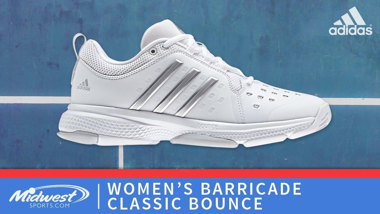 adidas barricade classic bounce womens