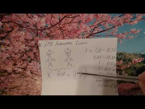 143 математика 6 класс. Задача. Как решить задачу с помощью уравнения