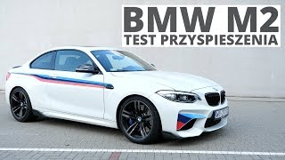 BMW M2 3.0 370 KM (AT) - acceleration 0-100 km/h
