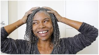 BENTONITE CLAY HORSETAIL (SILICA) TREATMENT ON NATURAL HAIR