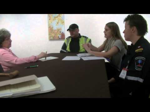 Dawn Ford Interviews EMS in Cornwall Ontario