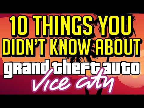 10 Things You Didn't Know About Grand Theft Auto Vice City