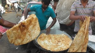 vuclip World Big Paratha with Halua @10 rs ($0.14) Only | Best & Cheap Street Food Mumbai