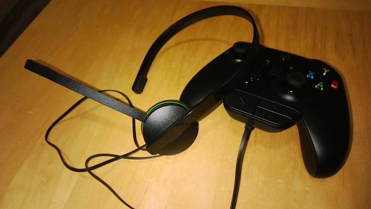 xbox one headset review mic test youtube