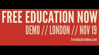 LIVE: National student demonstration in London against education budget cuts