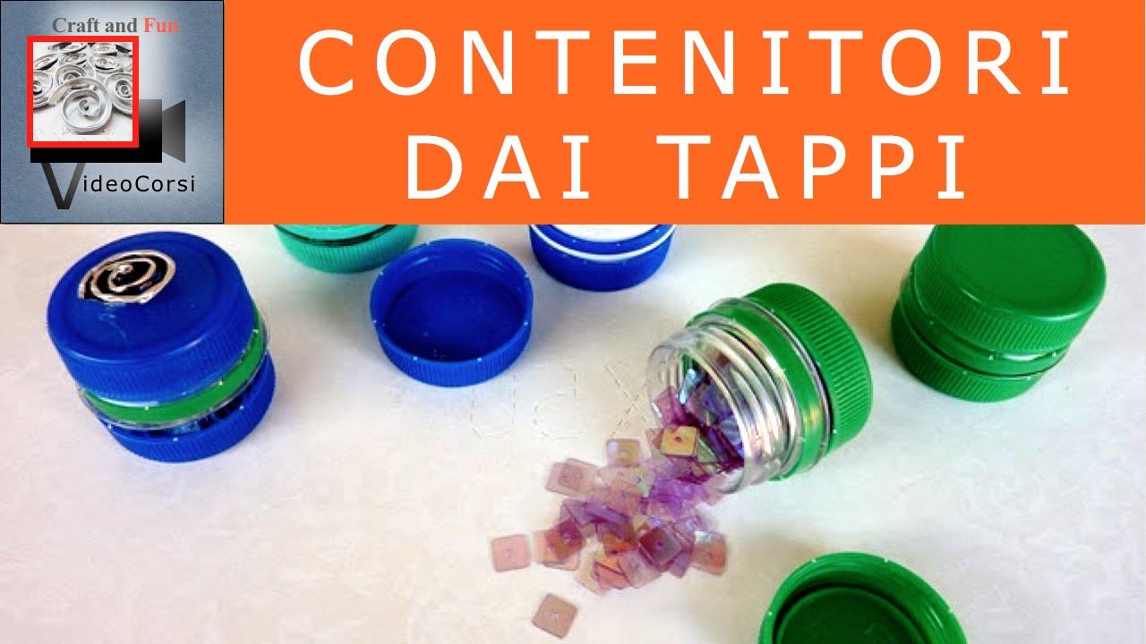 Contenitori per riciclare i tappi delle bottiglie di pet youtube - Fermatovaglia per tavoli di plastica ...