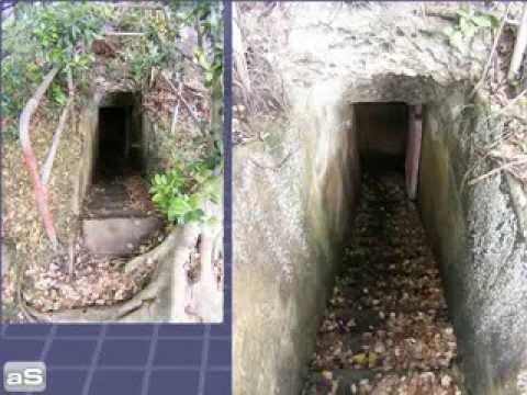 Hidden bunkers tunnels in Sydney
