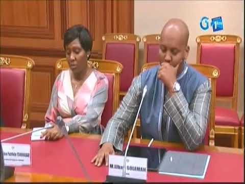 GABON. Ali Bongo passe un savon à son premier ministre Franck Emmanuel Issoze-Ngondet
