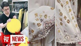 Rizalman's touch on Queen's attire
