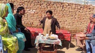 Besharam Shahzada Ghaffar  New Pothwari Drama Making Videos Part 7