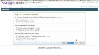 How To Create A Yahoo Group