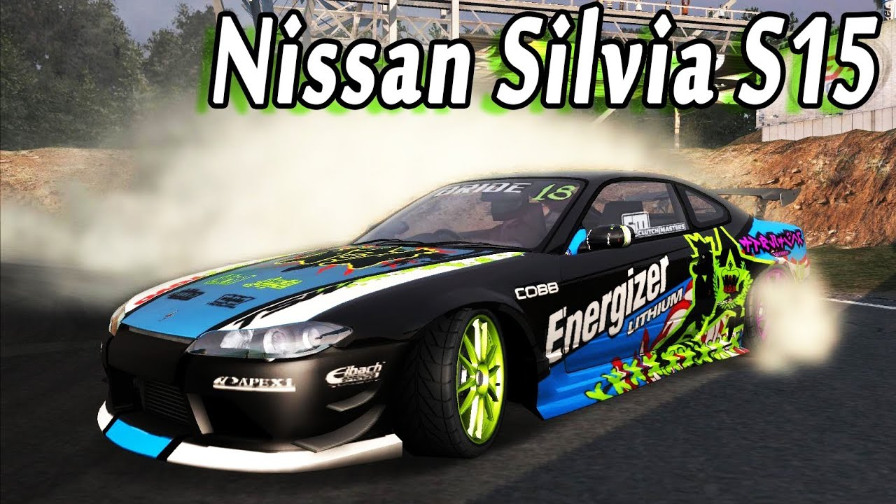Nfs Pro Street Nissan Silvia Drift Car Youtube