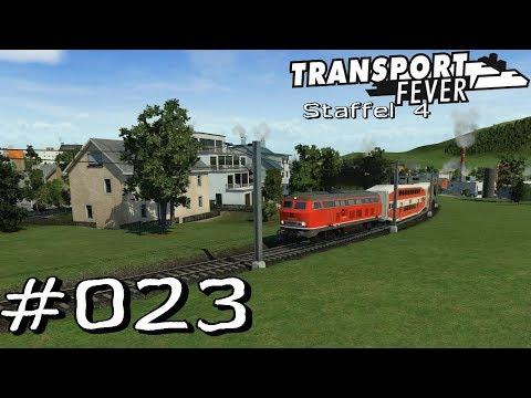 Transport Fever S4 #023 - Bau der Schnellzugstrecke München [Gameplay German Deutsch]