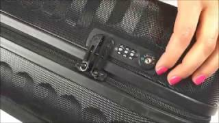 How to unlock and set Roncato luggage - Combination Lock