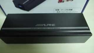 KTP-445UJ アルパイン 4chパワーアンプ レビューとGM-D1400の比較