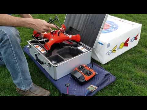 SwellPro Splash Drone Fisherman Version Official Factory Service Center video of Compass Calibration