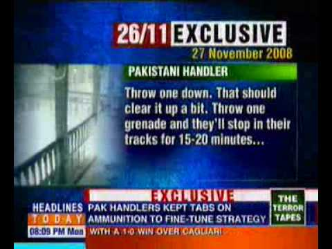 Mumbai Attack Terror Tape-phone conversation part1