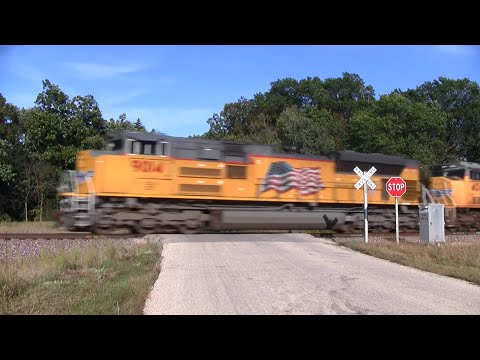 Union Pacific Freight Train - 17th Road 2