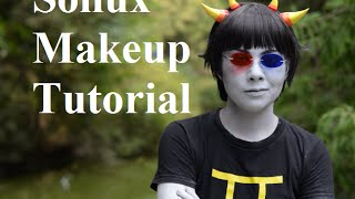 Homestuck - Sollux Captor Makeup Tutorial
