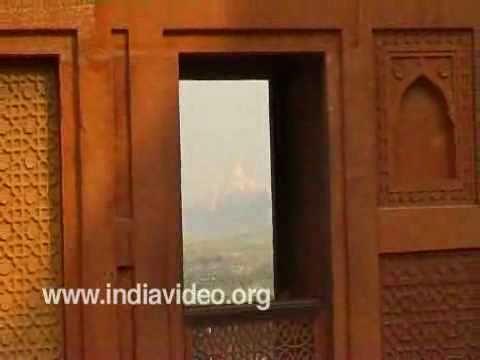 Balconies of Agra Fort