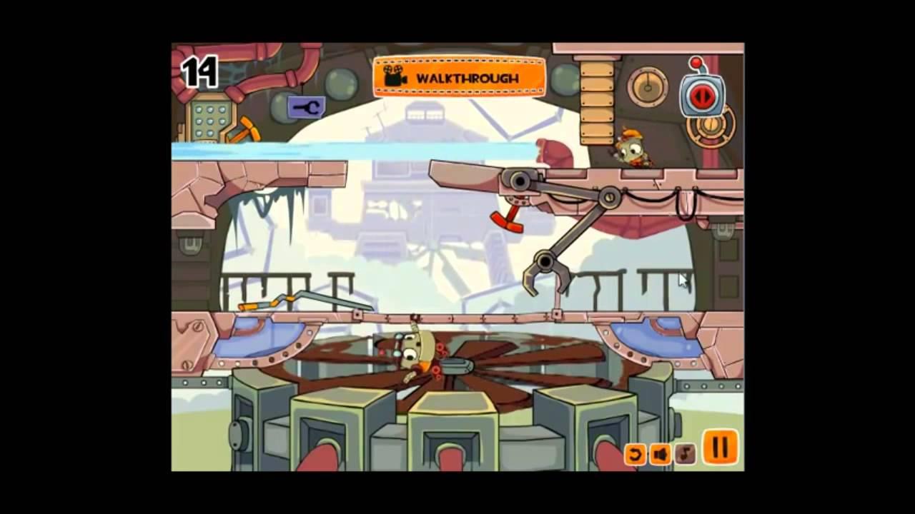 robo trobo level 14 walkthrough youtube