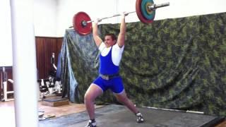 Попередень Виталий. Толчок 100 кг.