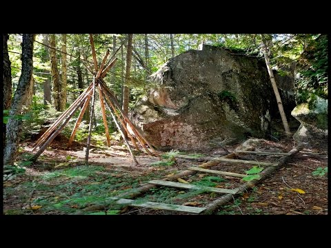Discovering a Sacred Site from Native Americans Indians in Quebec