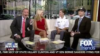 Army Softball: Kasey McCravey on Fox & Friends 5-17-16