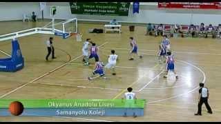 Gambar cover Okyanus Anadolu Lisesi - Samanyolu Koleji Basketbol Maçı