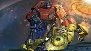 ► Transformers: Fall of Cybertron - The Movie | All Cutscenes (Full Walkthrough HD)