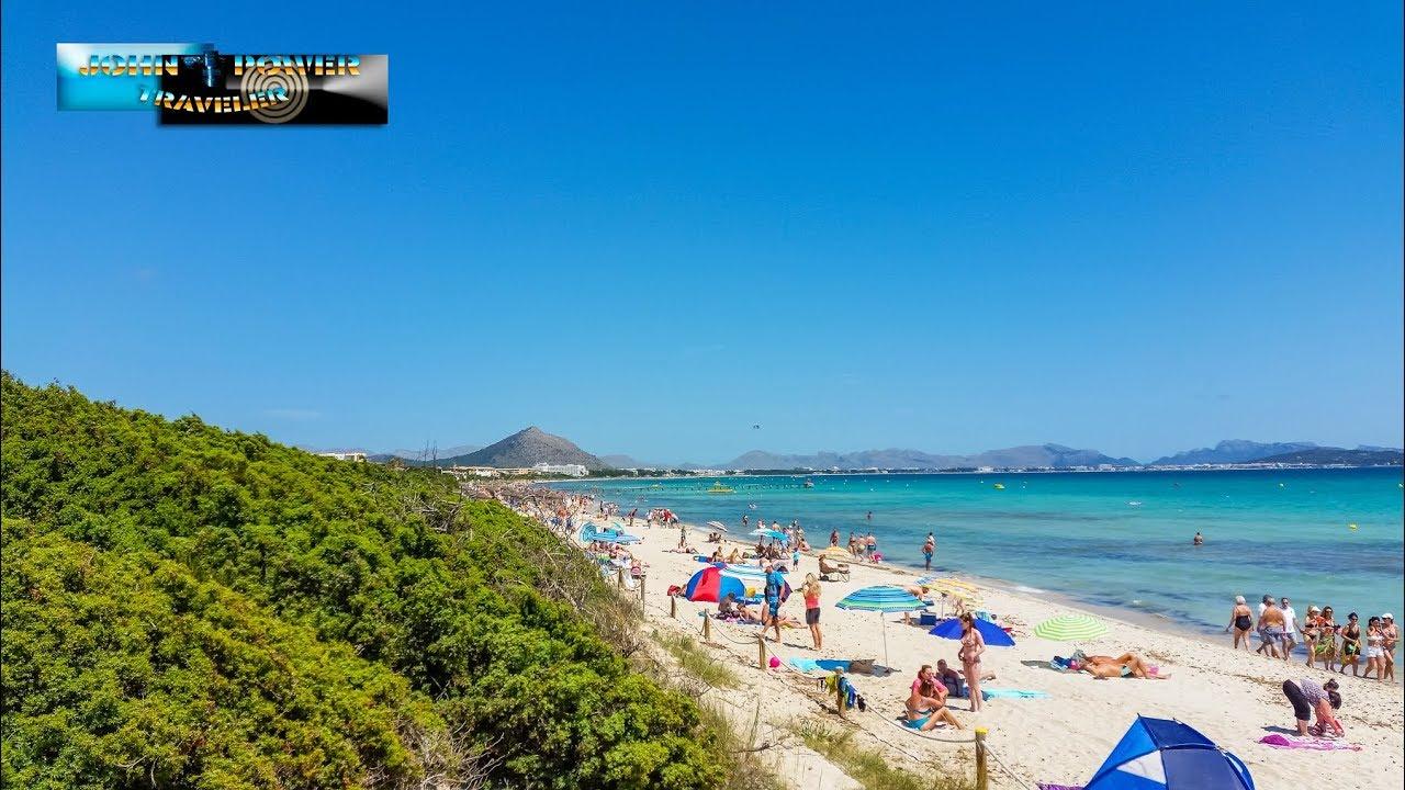 Playa De Muro Mallorca Beach Beautiful